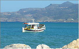 Sitia: Fishing in the bay